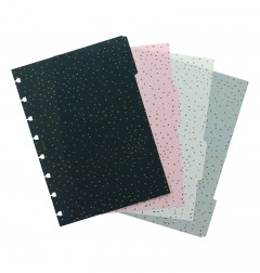 Confetti A5 Notebook Dividers