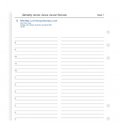 One Day On A Page Diary With Appointments A5 2021