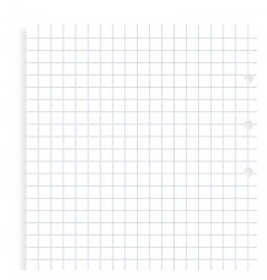 Clipbook Personal Squared Notepaper Refill