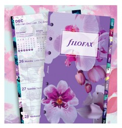 Floral Illustrated Diary Refill Pack Personal 2021