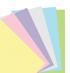 Pastel Plain Notepaper Personal Refill