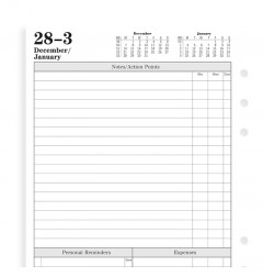 Time Management Week To View Diary A5 2020