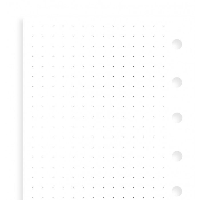 Dotted Journal Pocket Refill