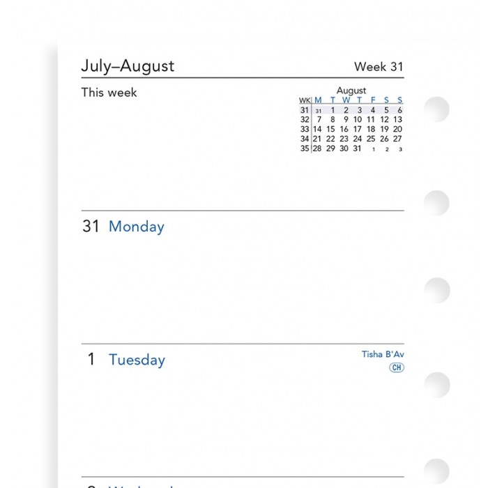 Week On Two Pages Academic Diary Pocket 2020-2021