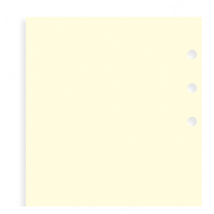 Cotton Cream Plain Notepaper Refill