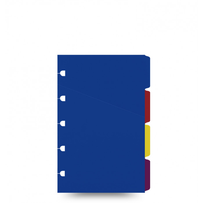 Filofax Notebook Pocket Bright Coloured Indices