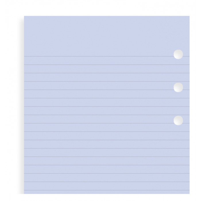 Lavender Ruled Notepaper Personal Refill