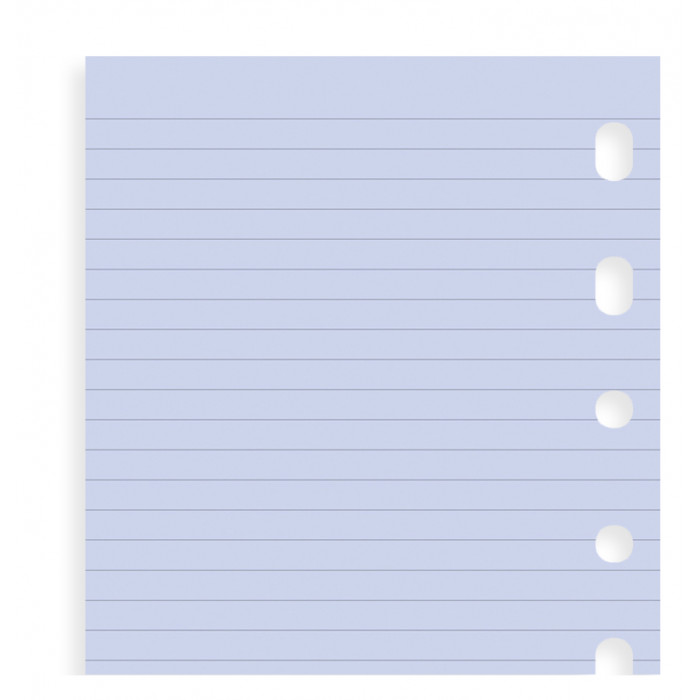 Lavender Ruled Notepaper Pocket Refill