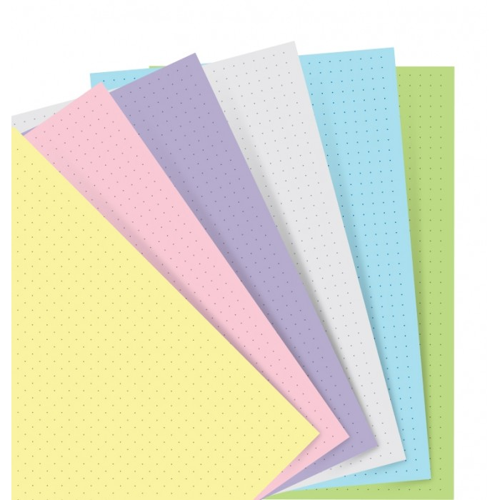 Pastel Dotted Journal Pocket Refill