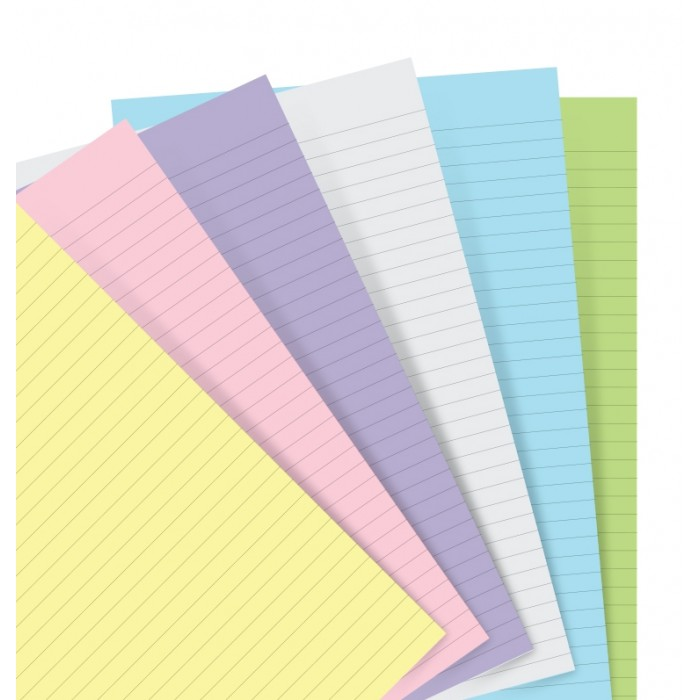 Pastel Ruled Notepaper Refill