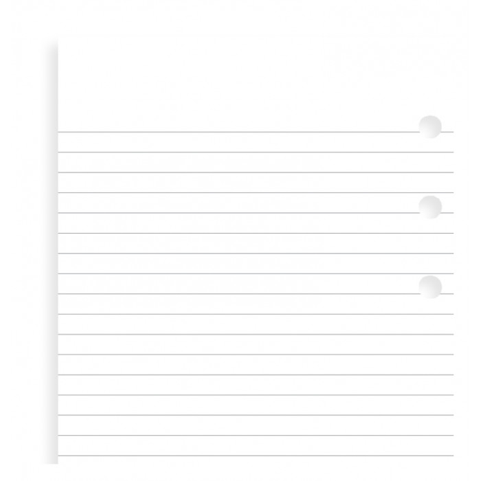 White Ruled Notepaper Value Pack Personal