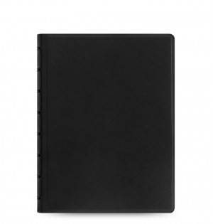 Filofax Notebook Saffiano A5 Black