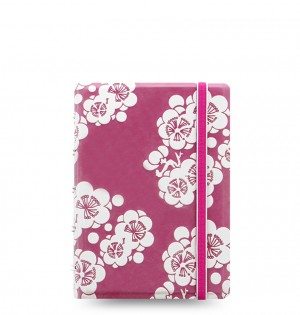 Filofax Notebook Impressions Pocket Pink/White