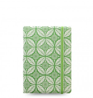 Filofax Notebook Impressions Pocket Green/White