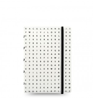 Filofax Notebook Impressions Pocket Black/White
