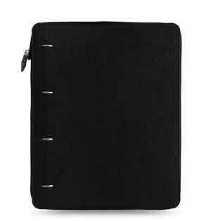 Clipbook Classic Monochrome A4 Zip Notebook