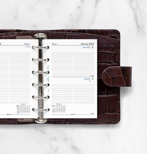 One Day On A Page Diary With Appointments Pocket