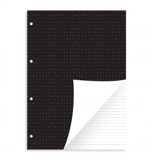 Ruled Notepad Refill - Letter