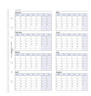 Four Year Planner Personal 2021-2024