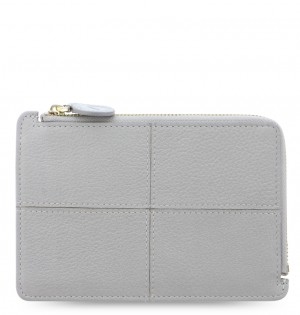 Classic Stitch Soft Zip Card Holder