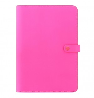 The Original A4 Notebook Folio Fluoro Pink