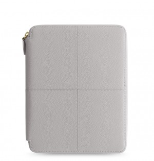 Classic Stitch Soft A5 Zip Writing Folio