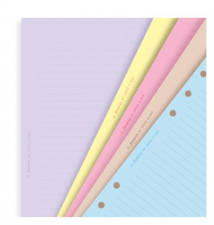 Classic Coloured Ruled Notepaper A5 Refill