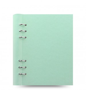 Clipbook Classic Pastels A5 Notebook Duck Egg