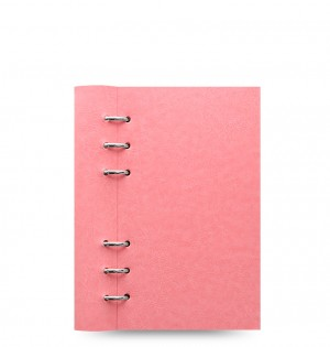 Clipbook Classic Pastels Personal Notebook Rose
