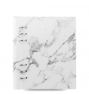 Clipbook Patterns A5 Notebook Marble