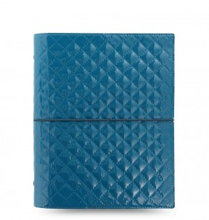 Domino Luxe A5 Organizer Teal 2019