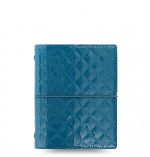 Domino Luxe Pocket Organizer Teal 2019