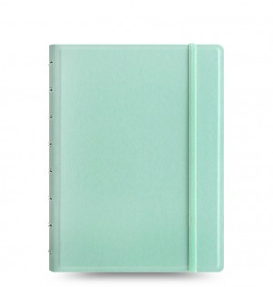 Filofax Notebook Dotted Paper - Classic Pastels A5 Duck Egg