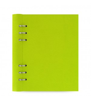 Clipbook Classic A5 Notebook Pear