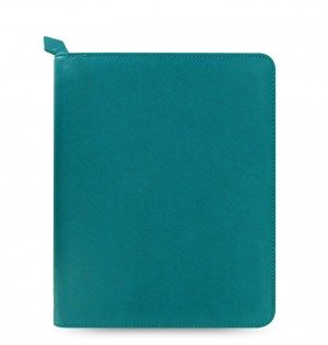 Saffiano Zip iPad Air Tablet Case Aquamarine