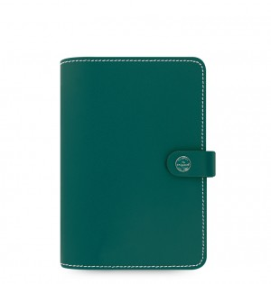 The Original Personal Organizer Dark Aqua - Any Year
