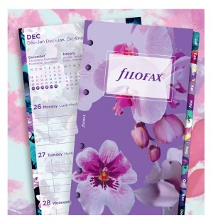 Floral Illustrated Diary Refill Pack Personal 2020