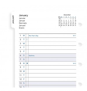 Filofax Notebook Pocket Month Planner 2019