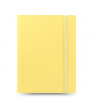 Filofax Notebook Dotted Paper - Classic Pastels A5 Lemon
