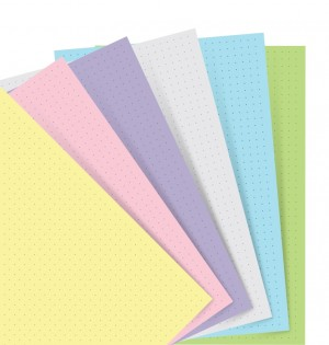Filofax Notebook A5 Pastel Dotted Journal Refill