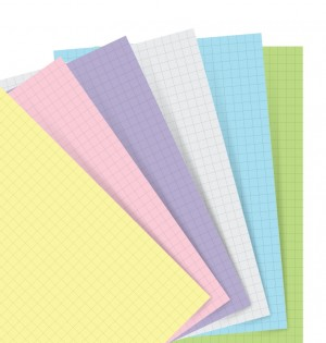 Pastel Squared Notepaper Personal Refill