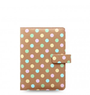 Patterns Pastel Spots Personal Organizer