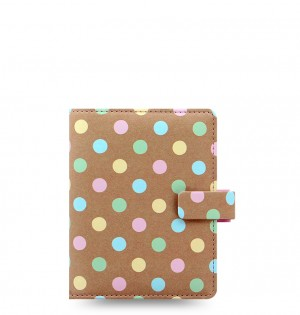 Patterns Pastel Spots Pocket Organizer