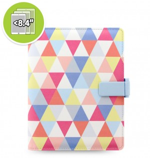 Patterns Strap Small Tablet Cover