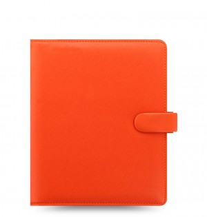 Saffiano A5 Organizer Bright Orange 2020