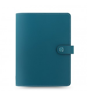 The Original A5 Notebook Folio Dark Aqua