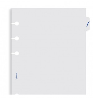 Transparent Flyleaf With Tab A5