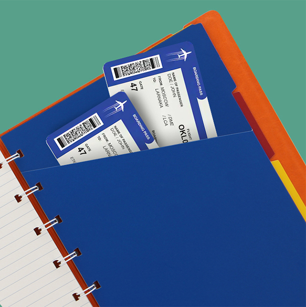 Filofax Notebooks Pocket Indices