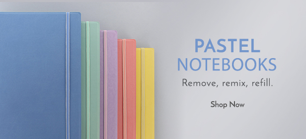 Filofax Pastel Notebooks